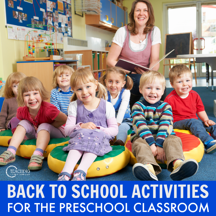 back to school activities for preschool teachers
