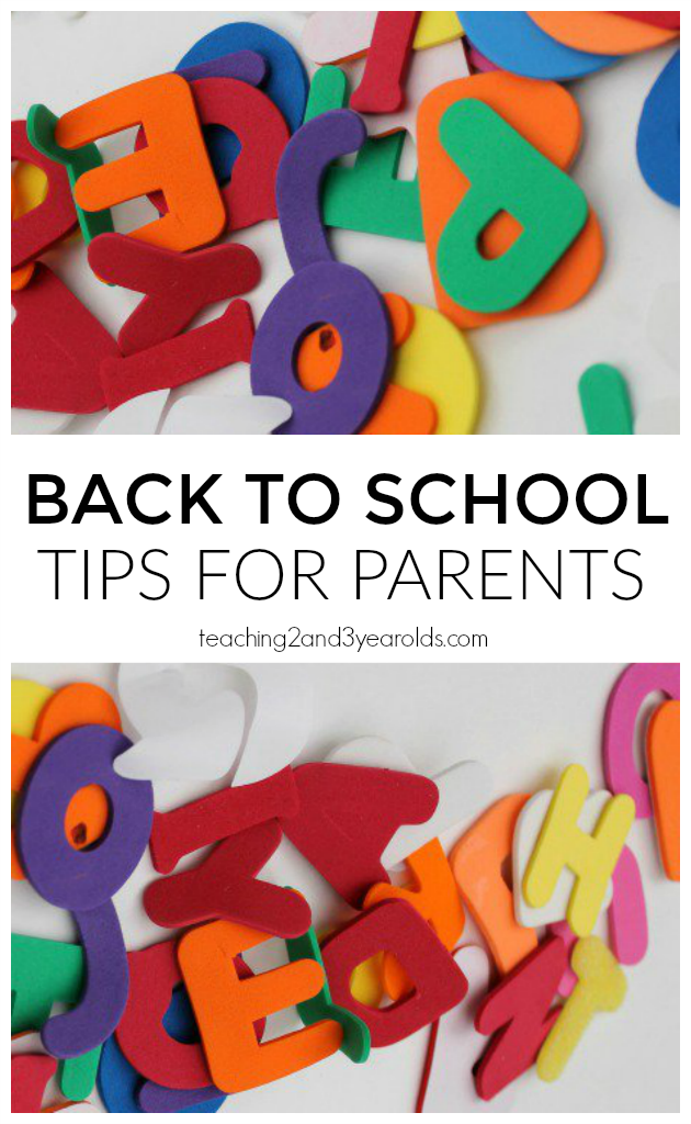 First day of school tips for parents