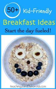 50+ kid friendly breakfast ideas - perfect for back to school!