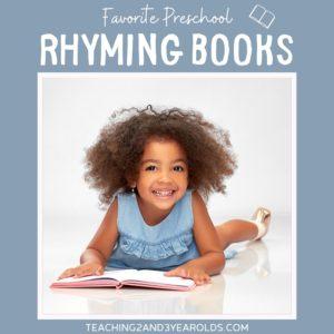 12 Favorite Rhyming Books for Preschoolers