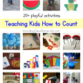 teaching kids how to count from Teaching 2 and 3 Year Olds