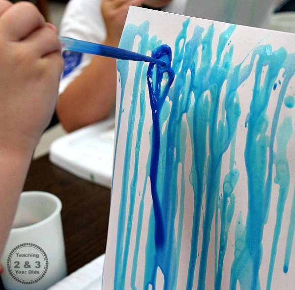 fine motor art in preschool
