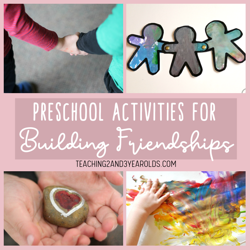 20+ Preschool Friendship Activities