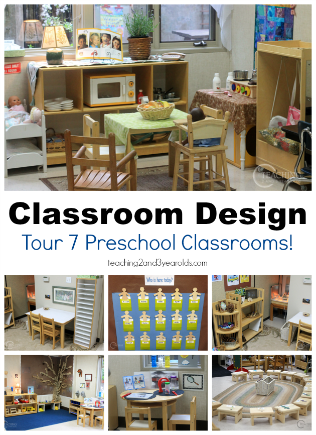 Home Classroom Design ~ How to set up a preschool classroom