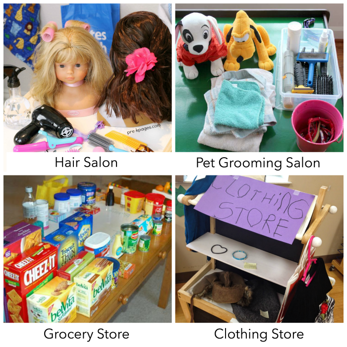 Dramatic Play Ideas for Toddlers and Preschoolers