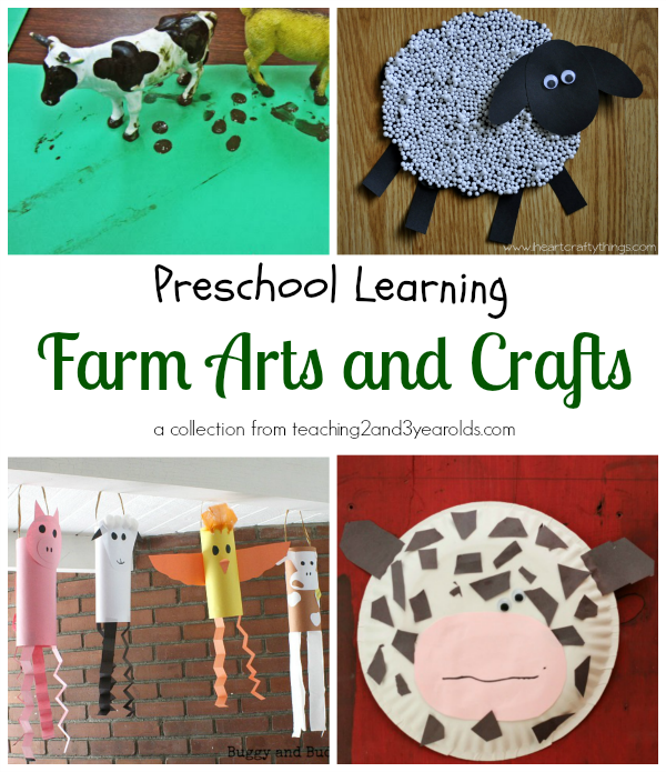 Farm Animal Crafts For Toddlers