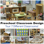 How to set up a preschool classroom.
