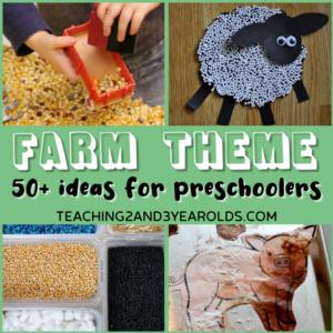 50+ Hands-On Preschool Farm Theme Activities