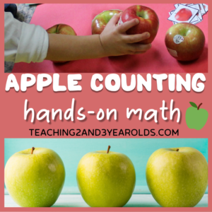 Teach Math with These Preschool Apple Counting Activities
