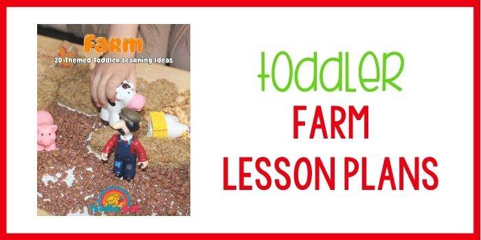 Toddler lesson plans farm theme