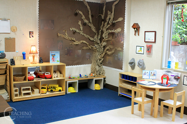 Wall Design For Kindergarten Classroom ~ How to set up a preschool classroom