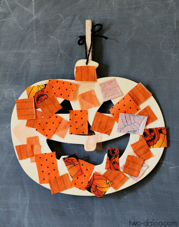 This is an image of Mesmerizing Pumpkin Crafts for Toddlers
