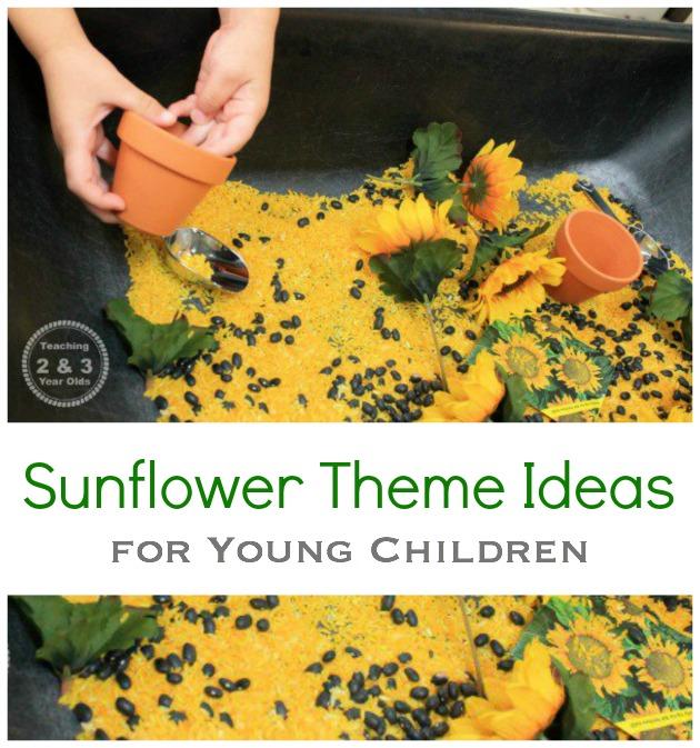 sunflower theme ideas