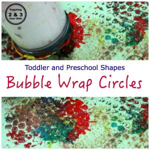 Preschool Shape Activities with Circles