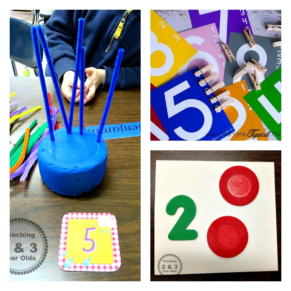 math preschool activities