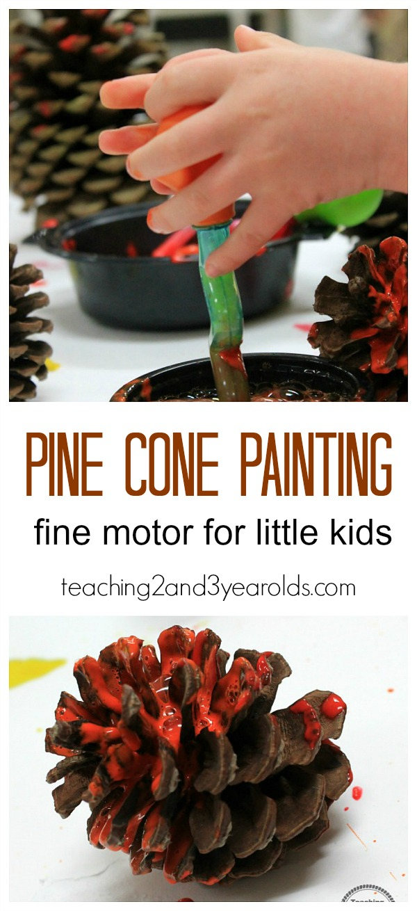 Pinecone crafts for preschoolers for Pine cone art projects