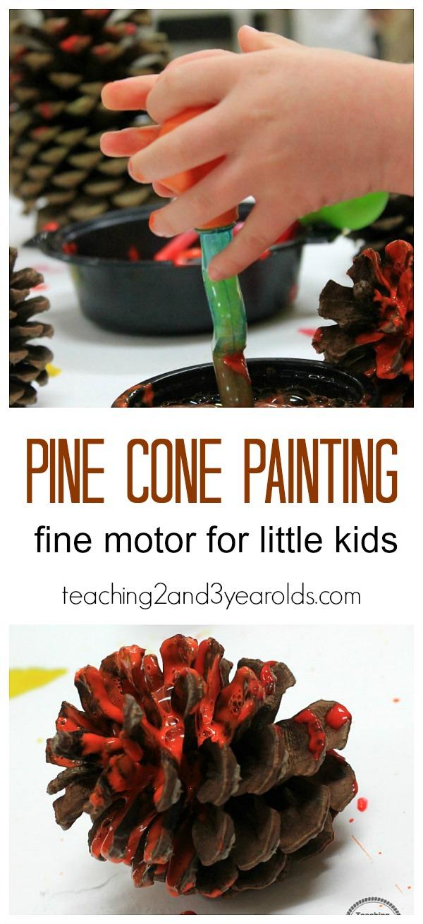 pine cone long header