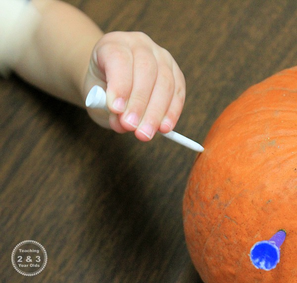 Fine Motor Pumpkin Activity