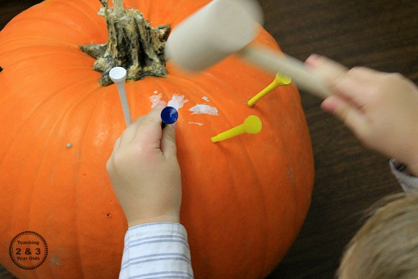 Fine Motor Pumpkin Activity