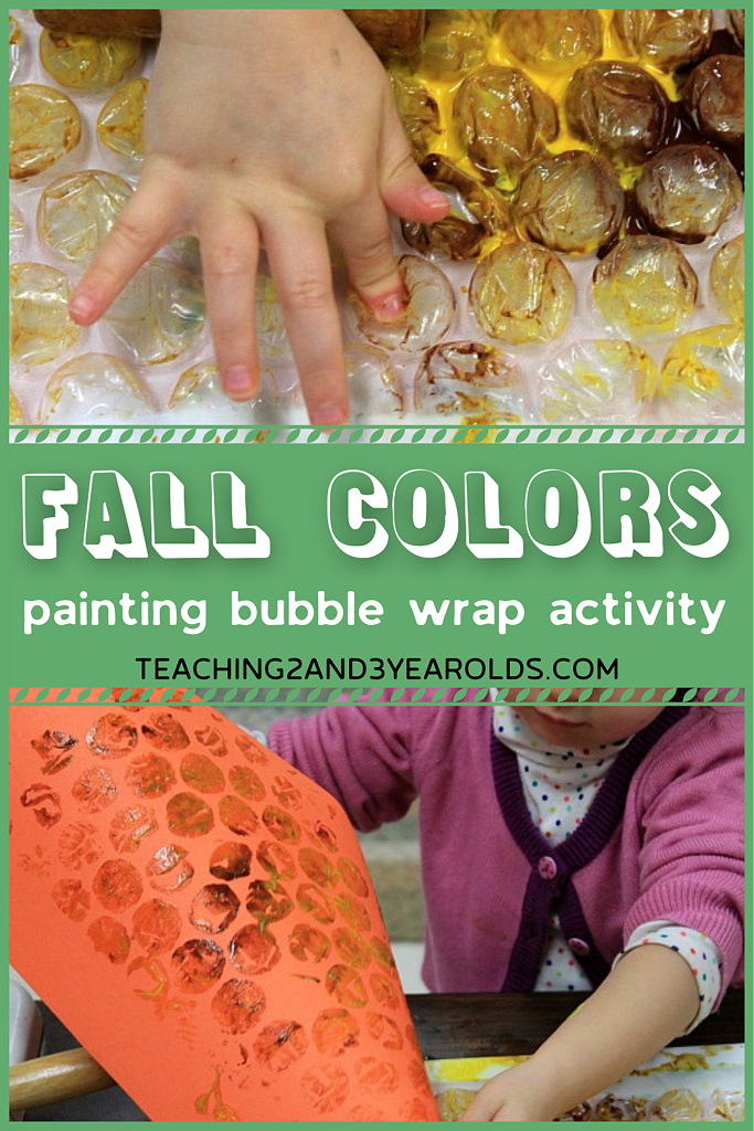 toddler fall art activity