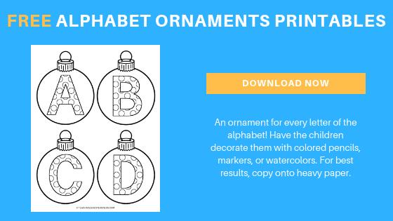 free alphabet ornaments printable