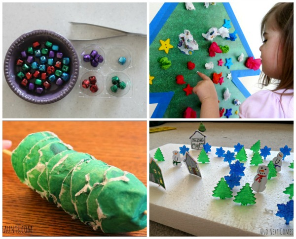 Looking for fun Christmas fine motor activities? Here are 18 fun ideas that get the hands and fingers ready for writing!