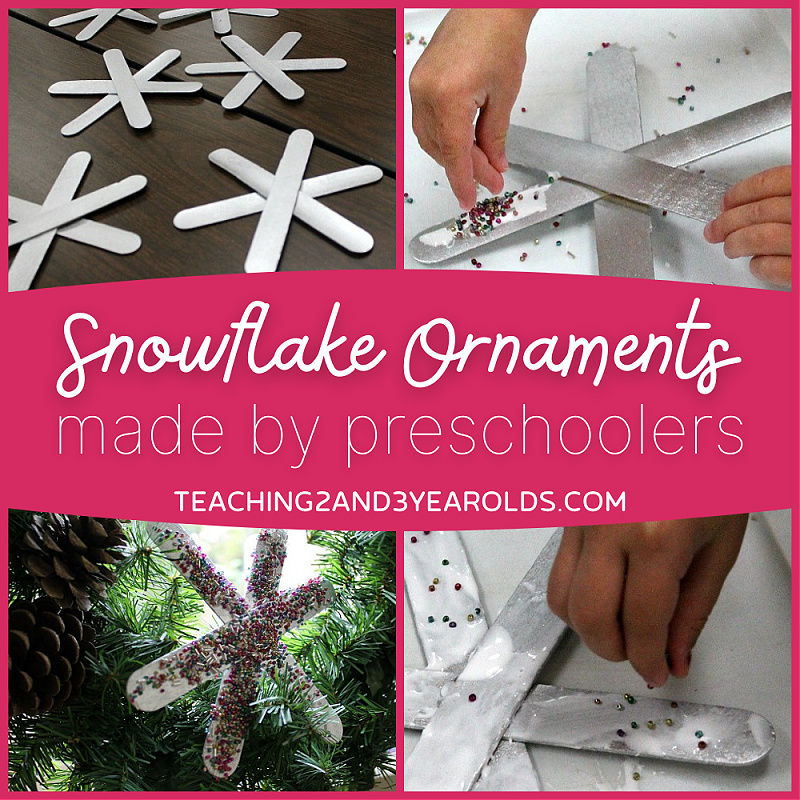 snowflake ornaments for kids