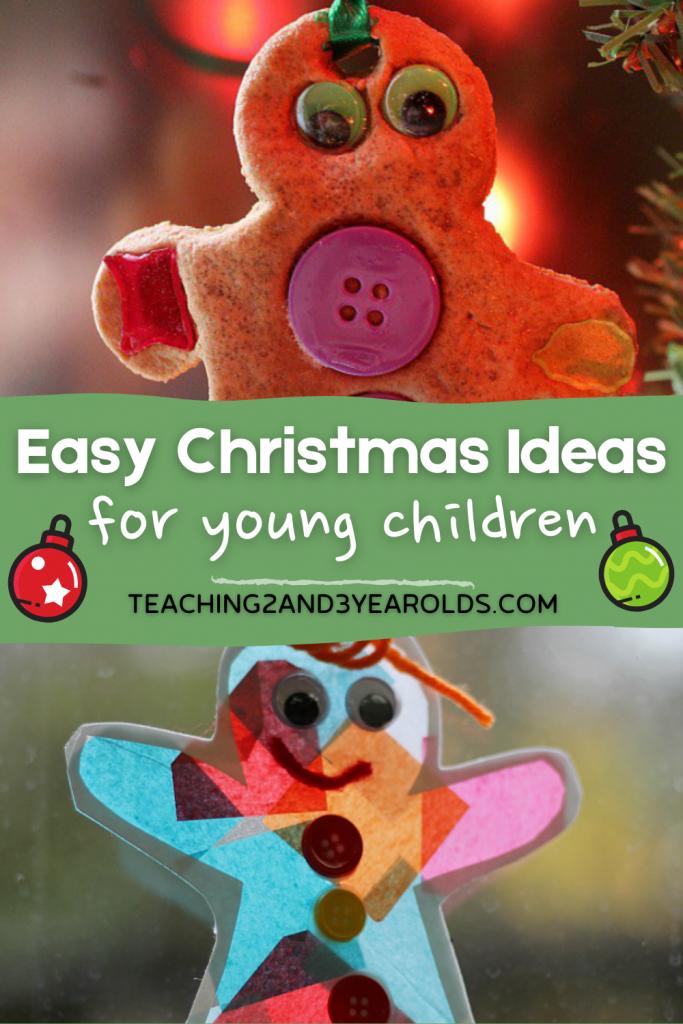 7 Easy Christmas Ideas for Little Kids