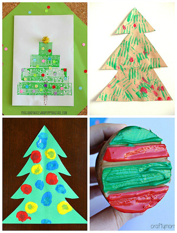 21 Fun Christmas Painting Activities For Kids