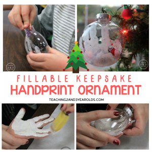 fillable handprint ornament