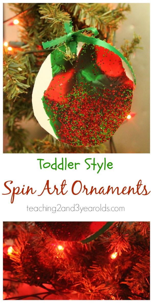 toddler Christmas art