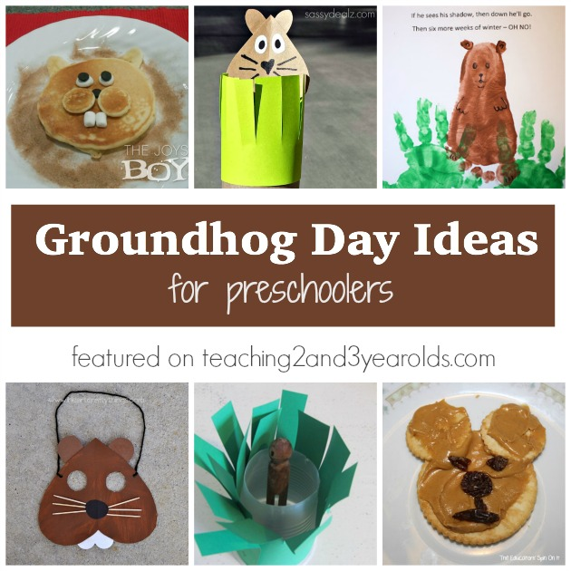 Groundhog Day Activities For Preschoolers