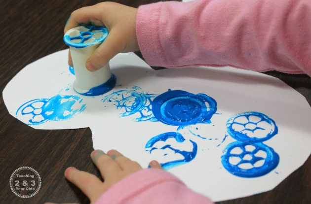 toddler winter art