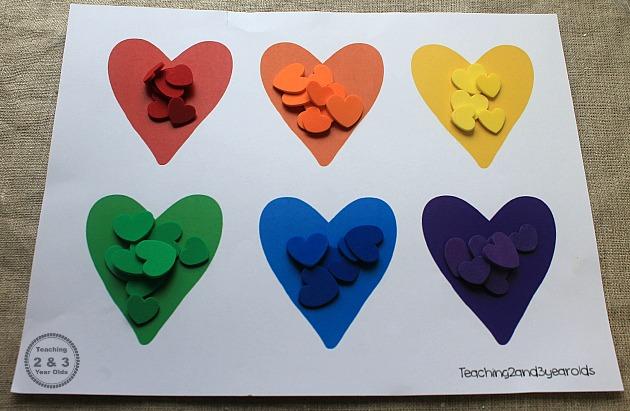 preschool valentines activity