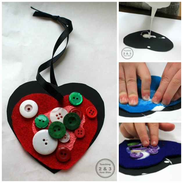 Easy Kids Valentine's Craft