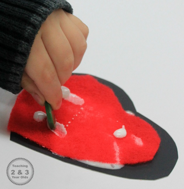 Easy Kids Valentines Craft