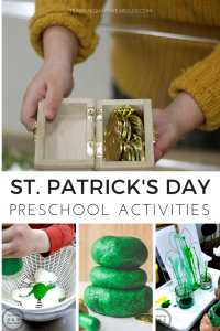 St. Patrick's Day Ideas for Preschool