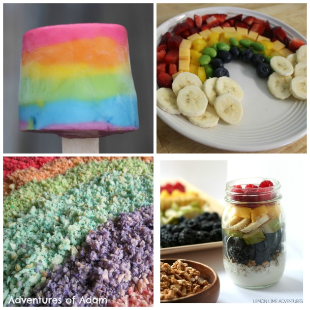 toddler rainbow activities