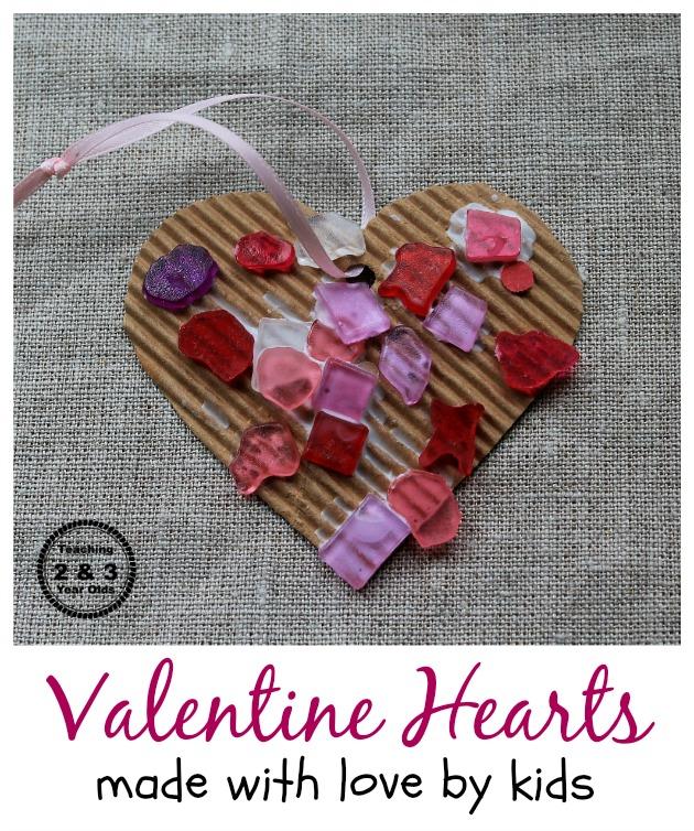preschool valentine's craft