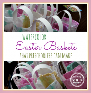 Easy Homemade Easter Bags for Kids