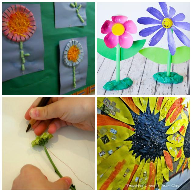 preschooler flower activities