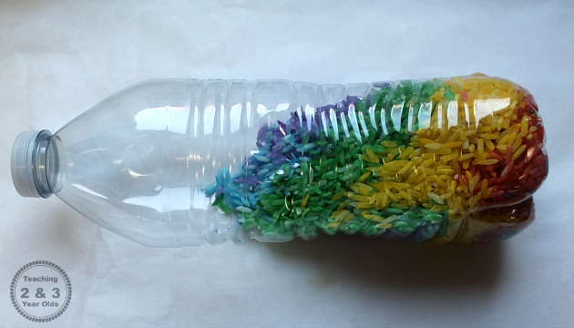 Letter Beads Discovery Bottles