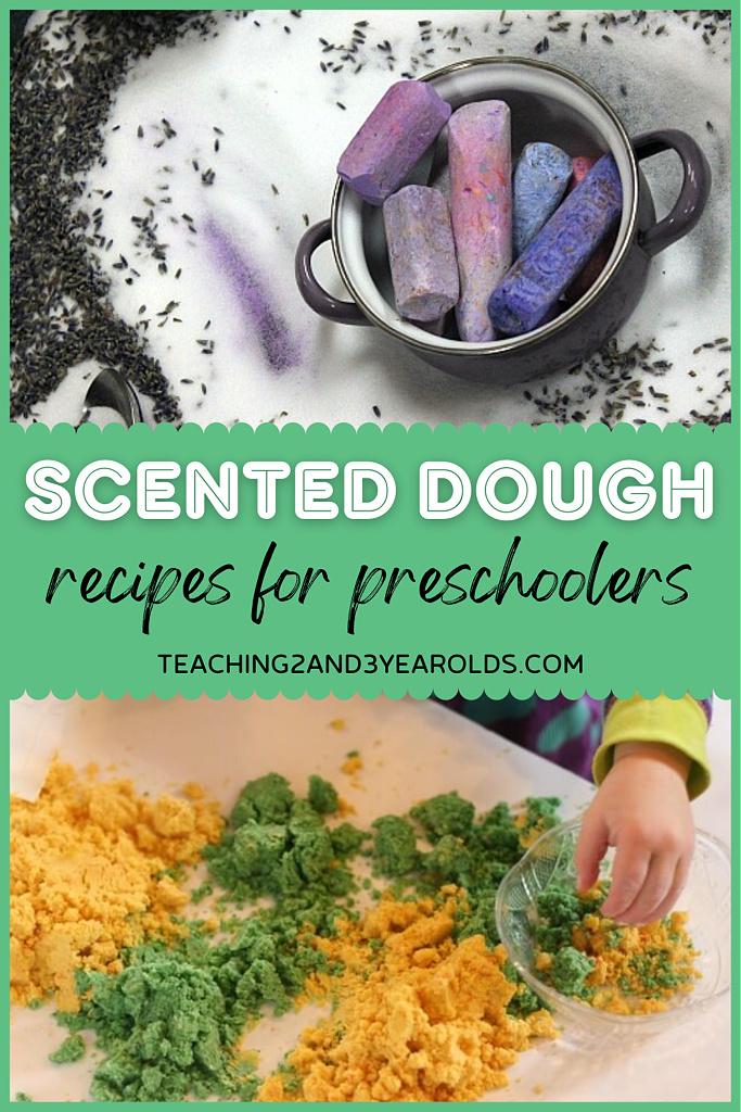 scented playdough recipes