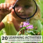 20 Learning Activities for Toddlers