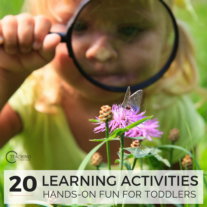 20 Super Fun Toddler Learning Activities