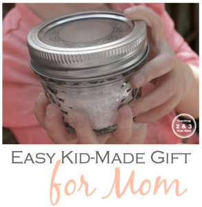 Easy Mother's Day Gift Made by Kids