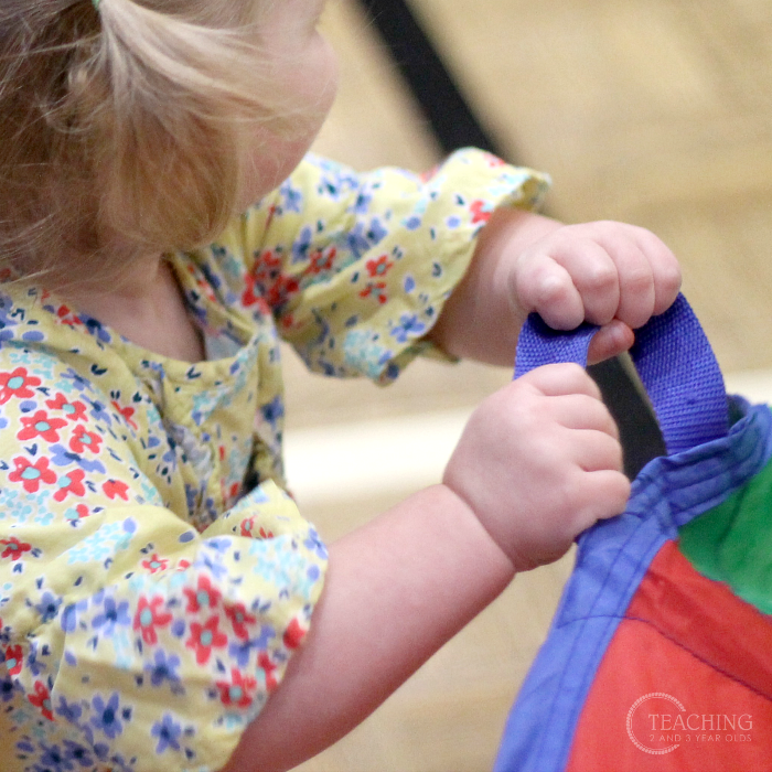 Fun Parachute Games that Keep Toddlers Moving