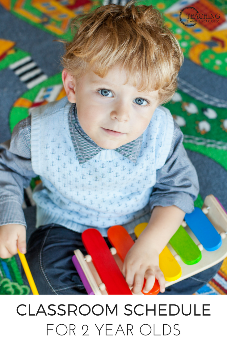 how to put together a simple toddler classroom schedule