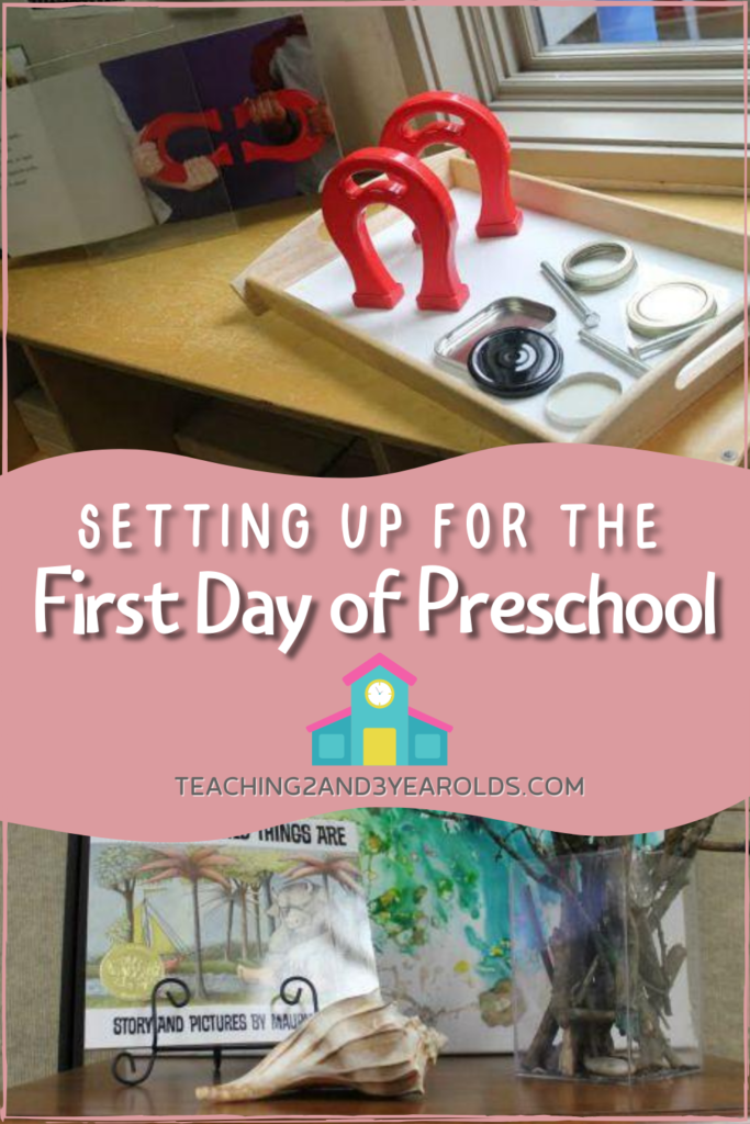 How to Get the Classroom Ready for the First Day of Preschool