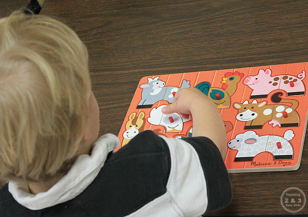 Learning Centers for 2 Year Olds